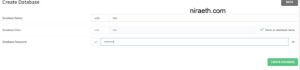 DirectAdmin Create Database And Database User 4
